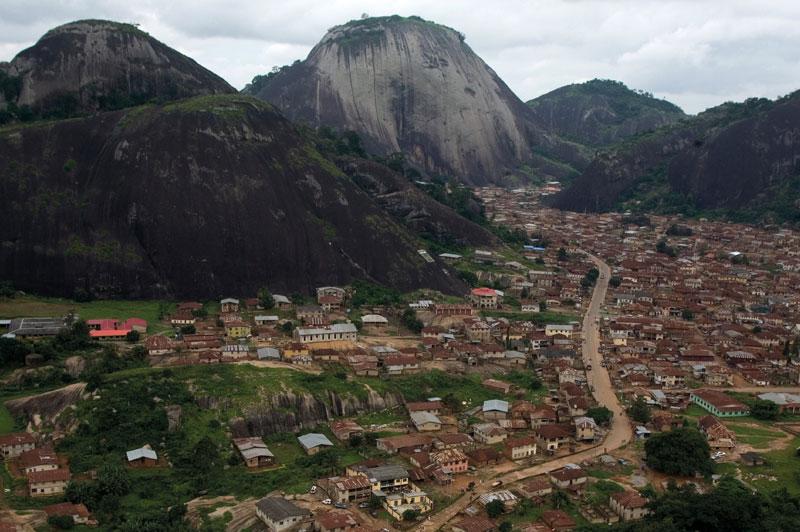 Idanre_Hills - Top 5 tourist destinations in Nigeria.