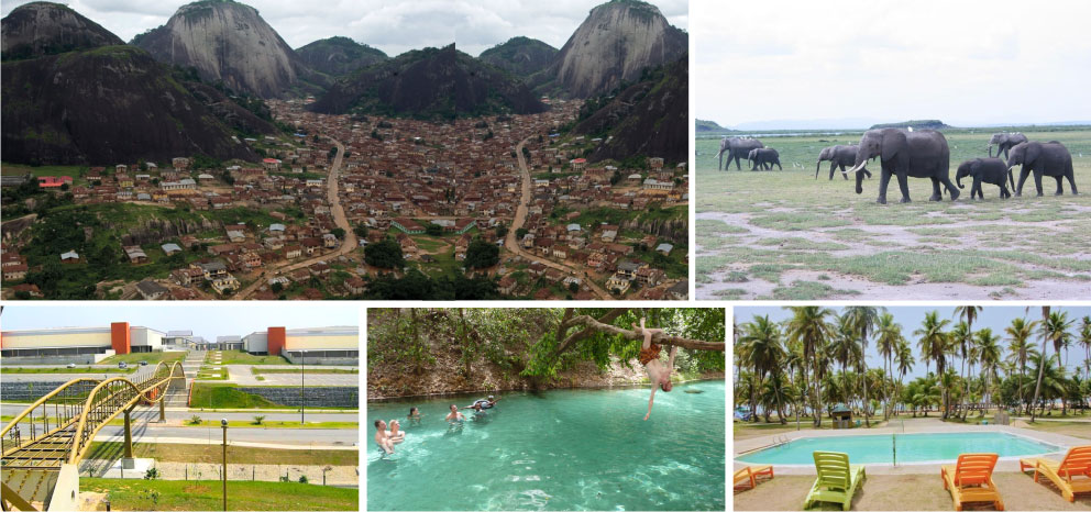 Top 5 tourist destinations in Nigeria