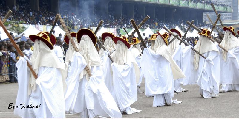 eyo - Top 6 Cultural Festivals In Nigeria