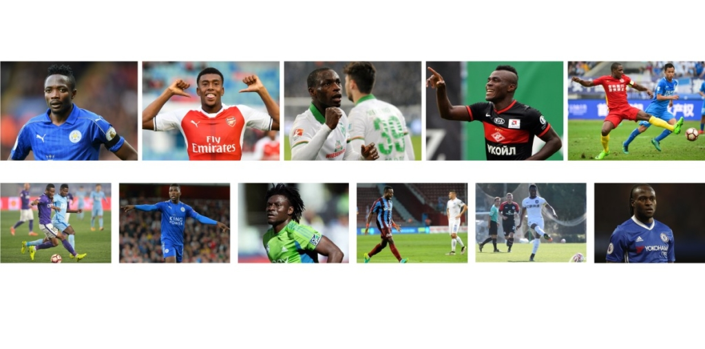 Top 10 Highest Paid Nigerian Professional Footballers 2017