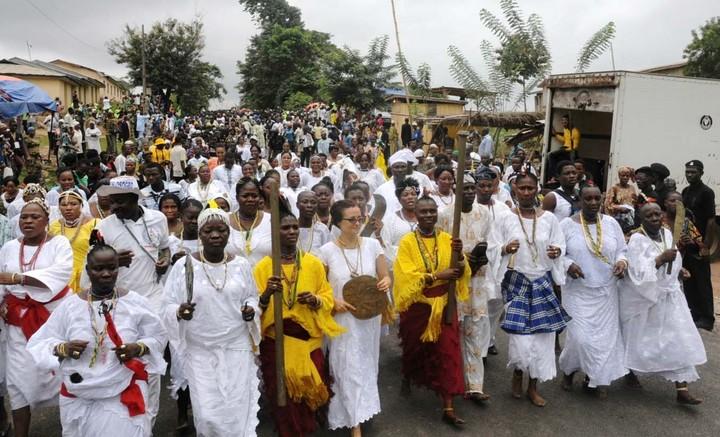 OSUN OSOGBO - Top 6 Cultural Festivals In Nigeria