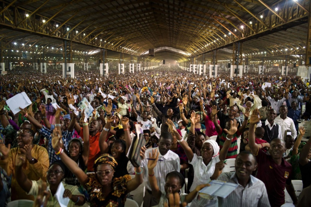 Top 5 Largest church auditoriums in Nigeria 2017 - rccg auditorium